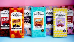 WebWiser De Villiers Chocolate Amazon launch